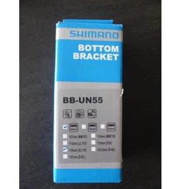 Shimano Shimano bottom bracket BB-UN55 - BSA - 68/118 mm trapas