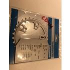 Shimano Shimano Tiagra FC-4603 kettingblad 30T 92 mm 3 x 10 speed
