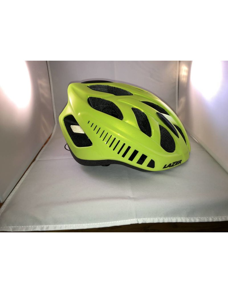 Lazer LAZER MOTION fietshelm flash yellow maat L 58-61 cm