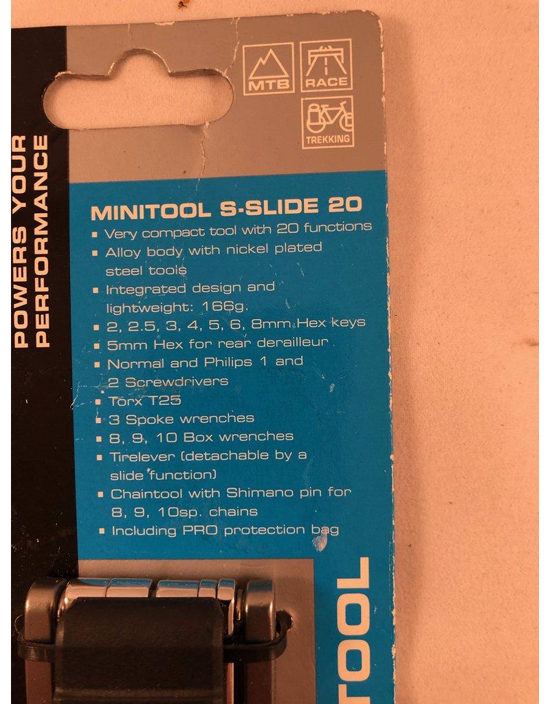 PRO PRO MINITOOL S-SLIDE 20 FUNCTIES incl kettingpons