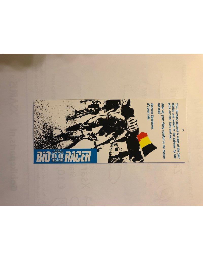 Bioracer Bio Racer fietsshirt maat 140, lange mouw.