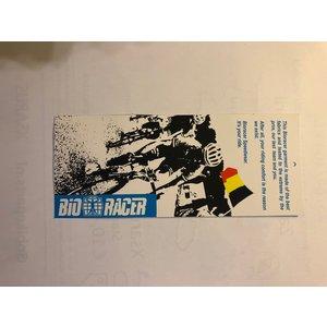 Bioracer Bio Racer fietsshirt maat 128, korte mouw met vlekje