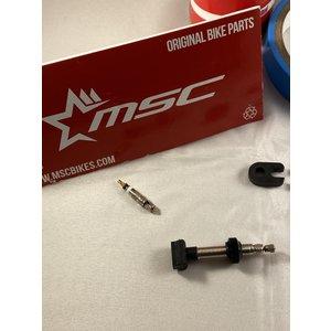 MSC Tubeless kit voor 2 wielen 22 mm incl Blackseal