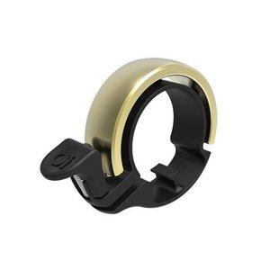 KNOG Knog Oi Fietsbel kleur messing, model  diameter 23,8 - 26, 31,8 mm  -