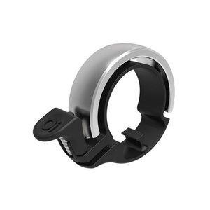 KNOG Knog Oi Fietsbel zilver, model  diameter 22, 2 mm