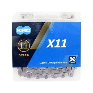 KMC Ketting KMC X11  zilver 114 schakels