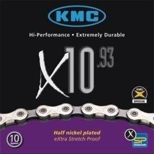 KMC Ketting KMC 10.93 voor 10 speed schakelsystemen