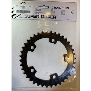 Super Duper BMX Tandwiel Super Duper 5 Arm 39t Zwart