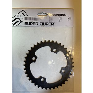Super Duper BMX Tandwiel Super Duper 4 Arm 39t Zwart