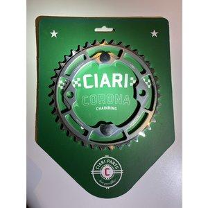 Ciari Ciari Corona 4-Bouten Race BMX Chainwheel 39t silver