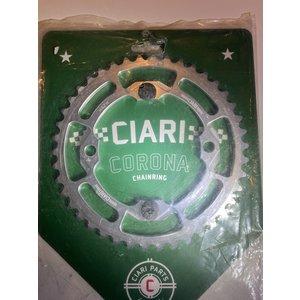 Ciari Corona 4-Bouten Race BMX Chainwheel 42t silver