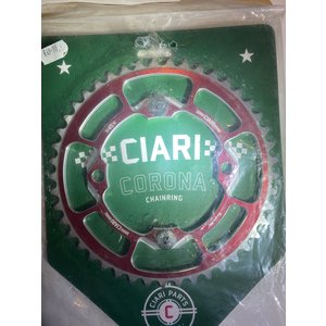Ciari Ciari Corona 4-Bouten Race BMX Chainwheel 45t silver-red