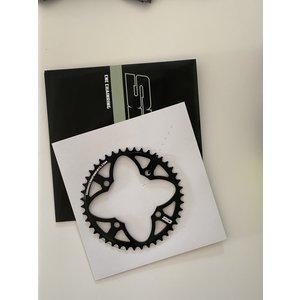 SD Sd Cnc 6061 Chainring 4 Hole 104 zwart 43t