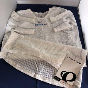 Pearl Izumi Pearl Izumi Wit Ondershirt Short Sleeve Man maat M Beslist