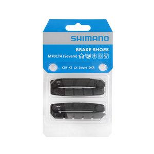 Shimano Shimano remblok M70RCT4 Severe V-brake 72 x 12 mm zwart