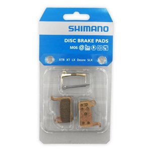 Shimano Shimano Schijfremblokjes M06 Metal XTR M975 zonder verpakking en veer en borgpen