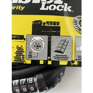 Masterlock Masterlock cijferkabelslot lengte 180 cm x 10 mm