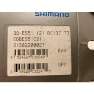 Shimano Shimano bottom bracket BB-ES51 - BSA - 73/121 mm trapas