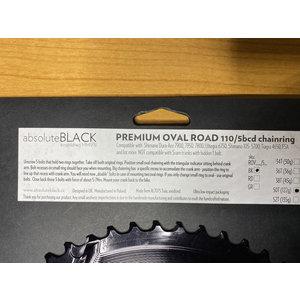 AbsoluteBlack AbsoluteBlack Premium oval road 110/5bcd 50T