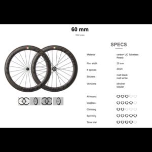 Cuore Cuore Carbon wielen voor velgremmen