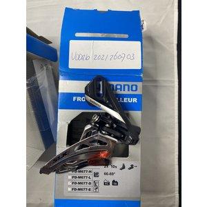 Shimano Shimano SLX FD-M677-D 2 x 10speed voorderailleur