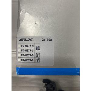 Shimano Shimano SLX FD-M677-L 2 x 10 speed voorderailleur