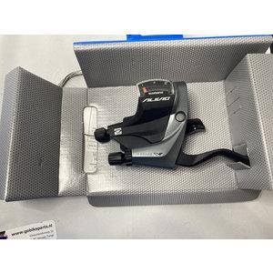 Shimano Shimano Shift/brake lever ST-M4000-L 3 speed Links grijs