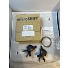 Microshift Microshift MTB shifters 2 x 10 speed XCD  zwart