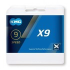 KMC KMC X9 Silver/grijs 9 Speed Ketting