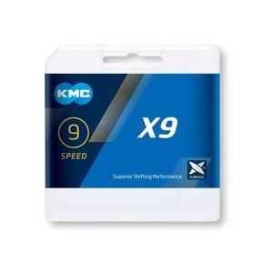 KMC KMC X9 grijs 9 Speed Ketting