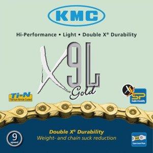 KMC KMC X9L  gold 9 Speed Ketting