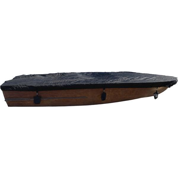 Hochwertige Bootsplane Abdeckplane 600D Schwarz