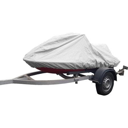 Jetskiabdeckung Jet Ski PWC Wasserscooter Hochwertige Abdeckung 600D Grau