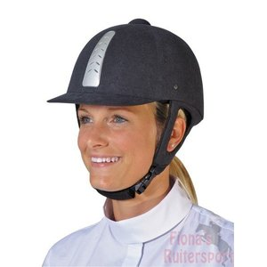 HKM HKM Rijhelm stripe -Air-