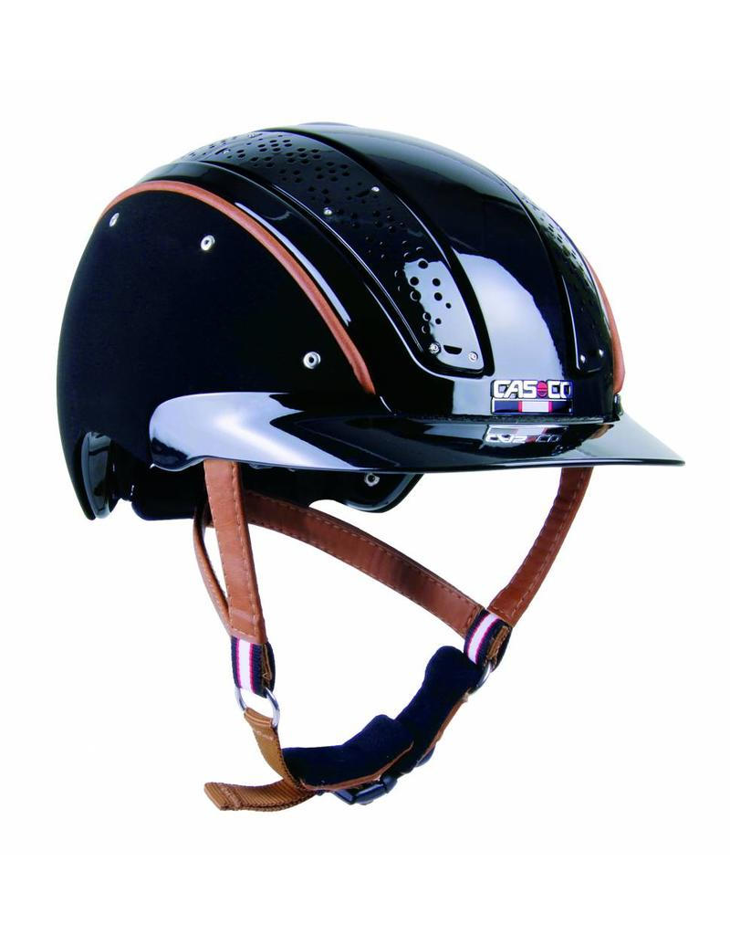 Casco Prestige Air composite zwart cap