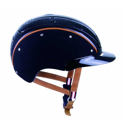 Casco Prestige Air composite zwart cap