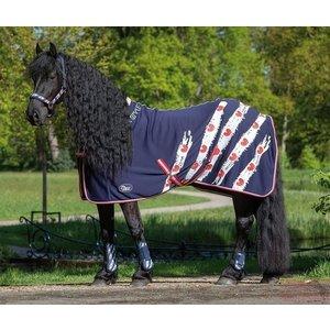 Harry's Horse Jerseyfleece deken Friesian