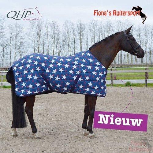QHP Deken stal Start Nylon 150gr stars 205cm