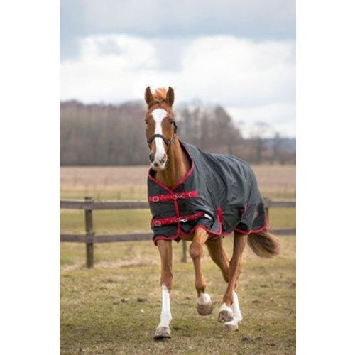 Hofman animal care OUTDOOR RUGBE ZERO. 1 ZWART/ROOD