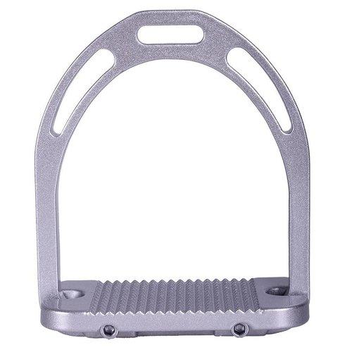 QHP Stijgbeugel aluminium Metallic