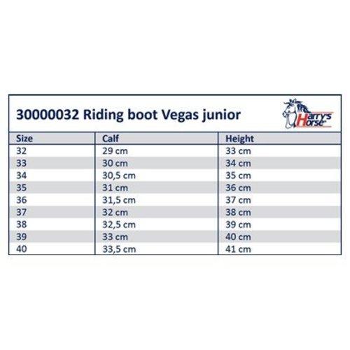 Harry's Horse Rijlaars Vegas junior