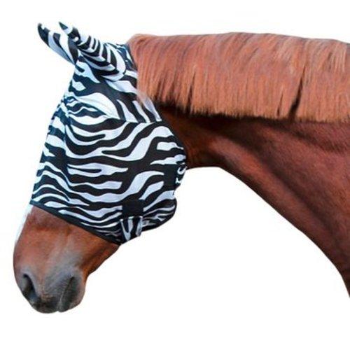 Hofman animal care VLIEGENMASKER ZEBRA MET OORBESCHERMING