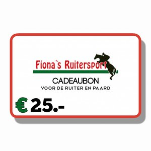 Cadeaubon €25.-