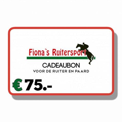 Cadeaubon €75.-