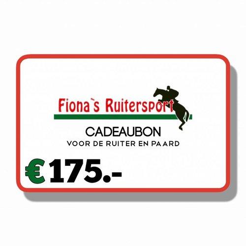 Cadeaubon €175.-