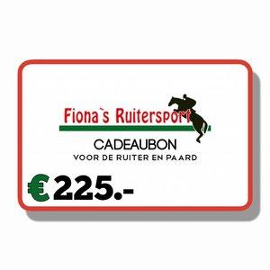 Cadeaubon €225.-