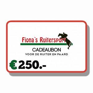 Cadeaubon €250.-