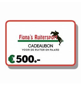 Cadeaubon €500.-