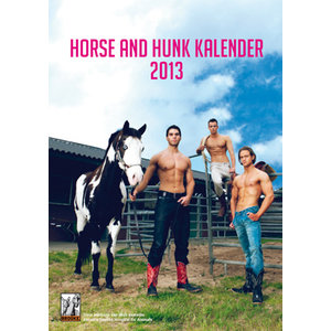 Horse and Hunk kalender 2013