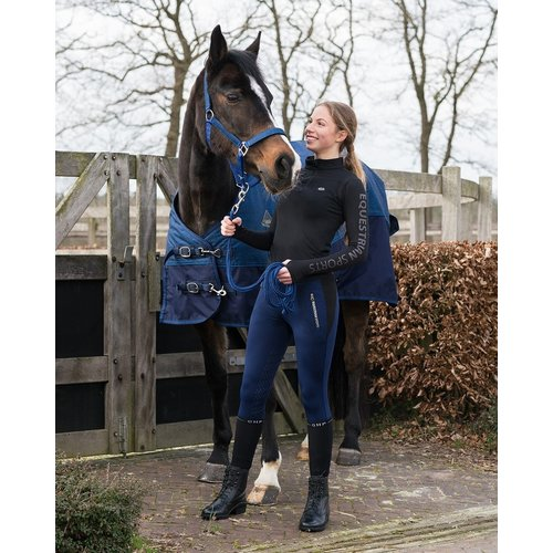 QHP Rijbroek pull-on Amelia knie grip